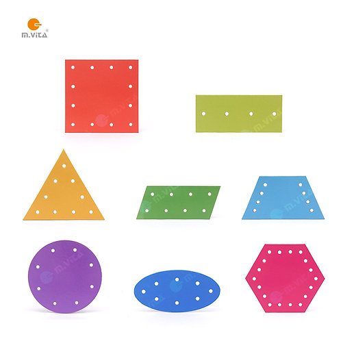 Sewing Cards for Montessori Activity