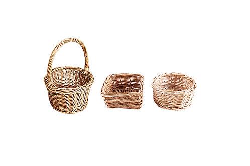 Handmade Small Rattan Basket