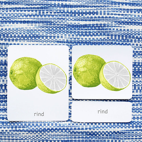 PARTS OF: LIME FRUIT