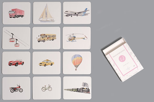 Transportation Nomenclature/Classified Cards for IC