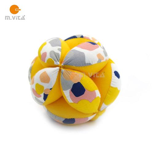 Kicking Ball 12cm New Pattern (Yellow)