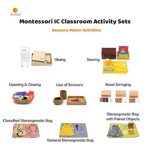 10 Sensory-motor Activities for IC Montessori Classroom Start-up package