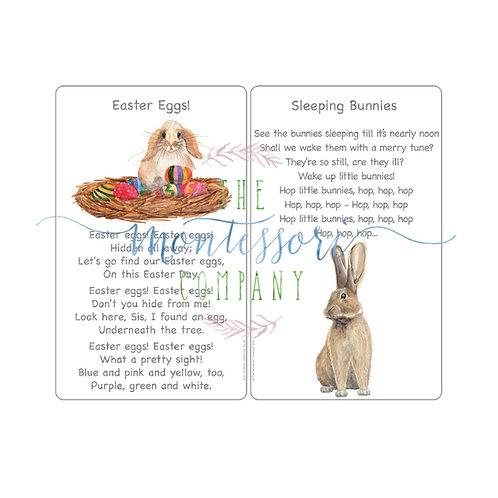 Easter Songs Easter egg, Sleeping Bunnies