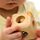 Thumbnail: Cube with Bell Montessori Natural Wood Rattle