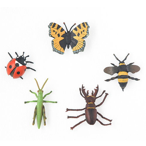Animal Replicas: Insects Set of 5