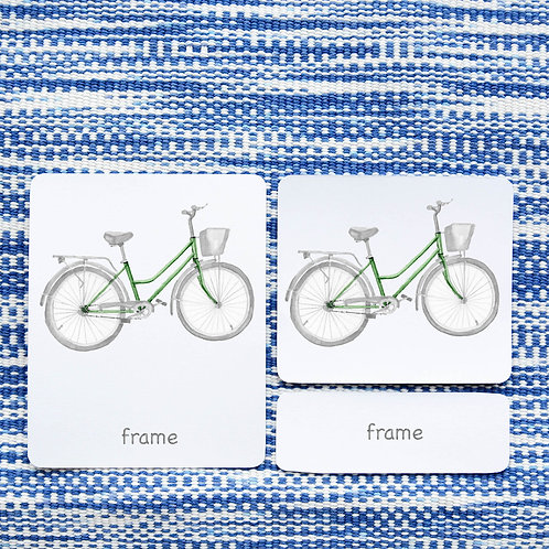 PARTS OF: BICYCLE