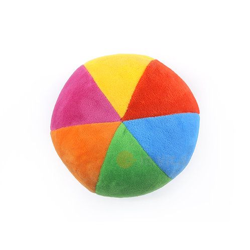Soft rainbow grasping ball for baby