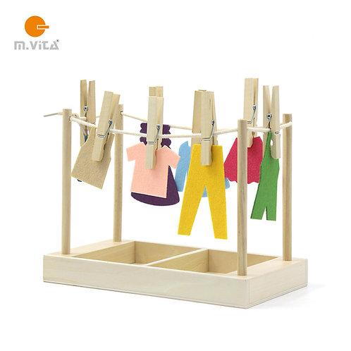 Clothespin Exercise Clothesline Activity Montessori