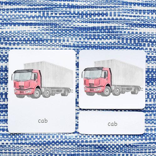 PARTS OF: TRUCK TRANSPORTATION