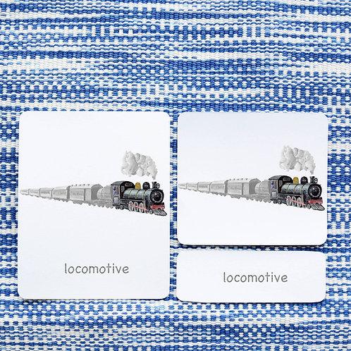 PARTS OF: TRAIN TRANSPORTATION