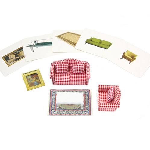 Objects with Similar Cards: Living Room