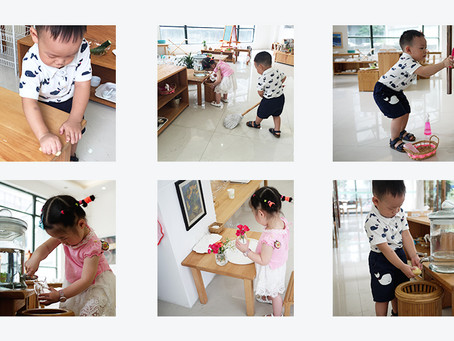 """Kids """"Working"""" in Our Exhibition Center"""