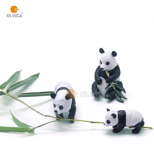 Animal Replicas: Pandas Set of 3