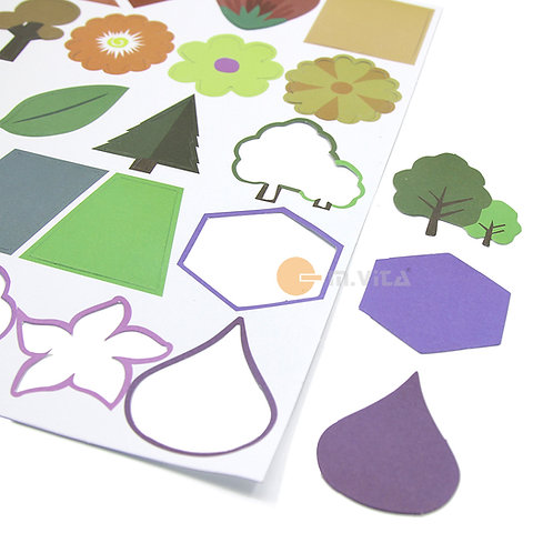 Shapes for Gluing Activity