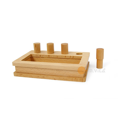 Peg Box Montessori Material for Toddler