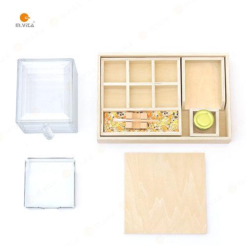 Montessori Gluing Activity Full Set Glue Box
