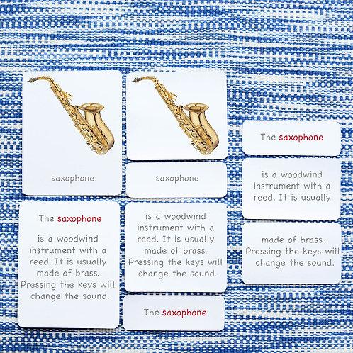 5 PART CARDS: INSTRUMENTS