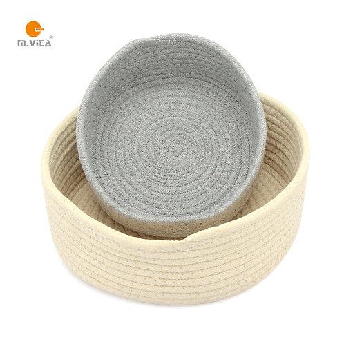 Round Cotton Rope Basket