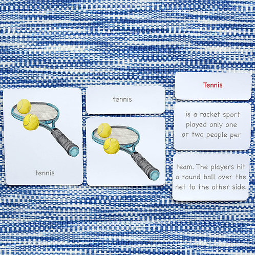 5 PART CARDS: SPORTS