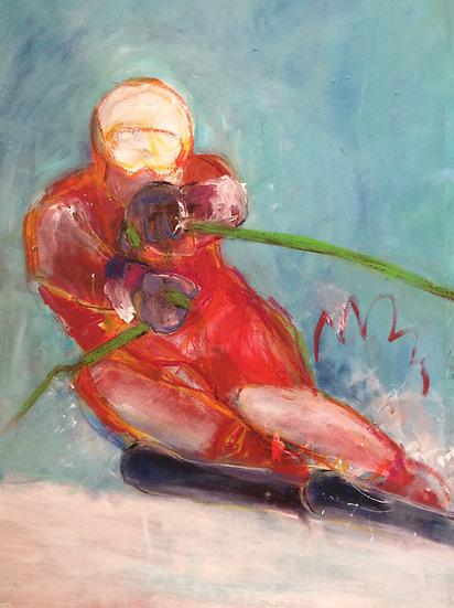Hahnenkamm Skifahrer 1