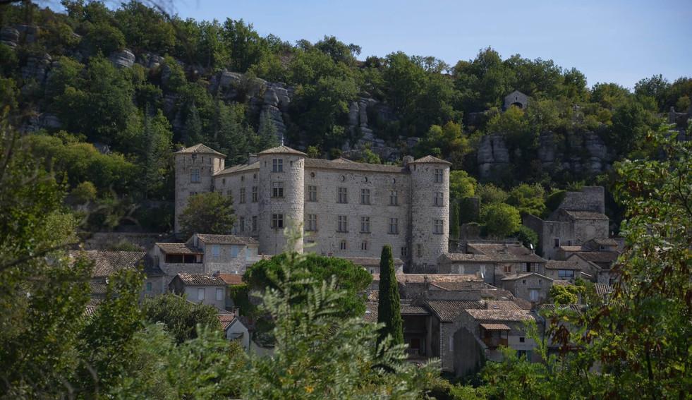 Chateau de Vogue-Ardeche-France-Hexatrek