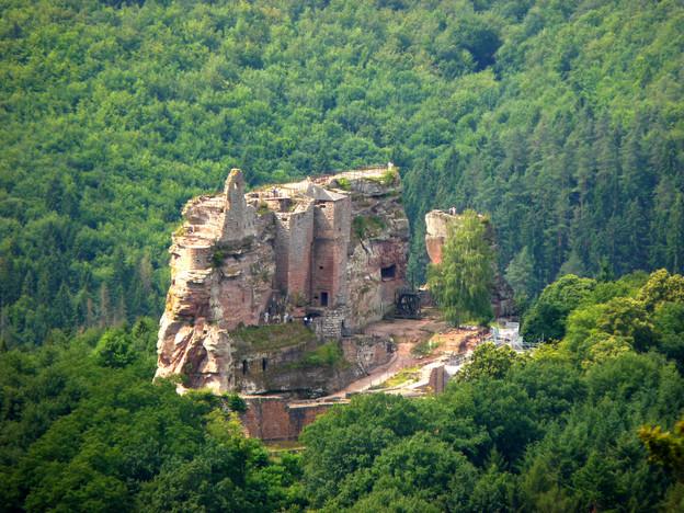 Chateau du fleckenstein - Vosges - Hexat