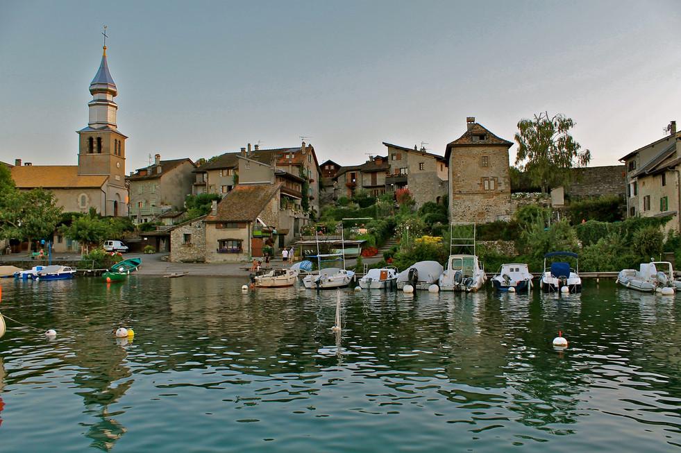 Yvoire - Lac Leman - Hexatrek-Etape1-Ran
