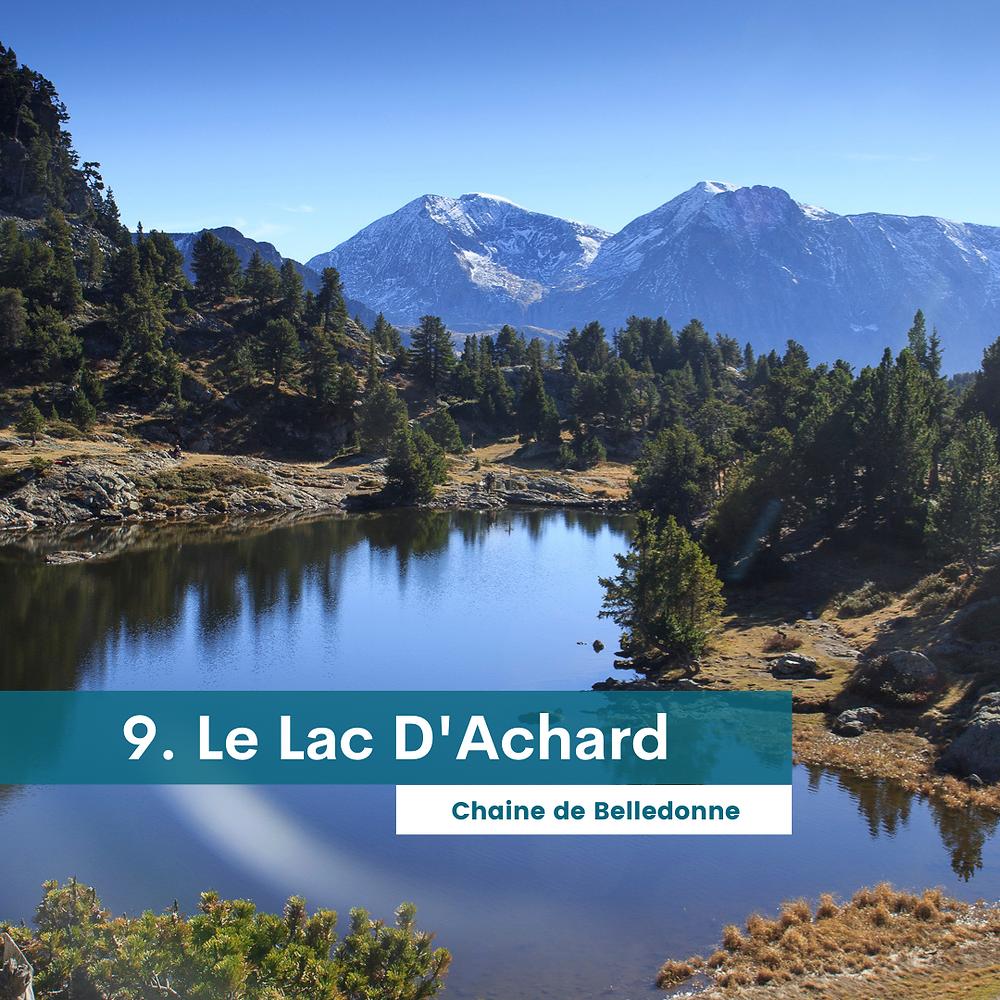 Le lac d'Achard - Chaine de belledone