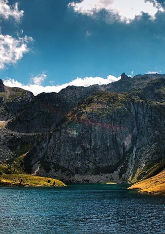 Lac Bleu d'ilhéou- Pyrénées-Hexatrek-Biv