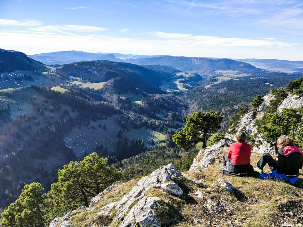 Aiguilles De Baulme - Jura -Hexatrek-Etap