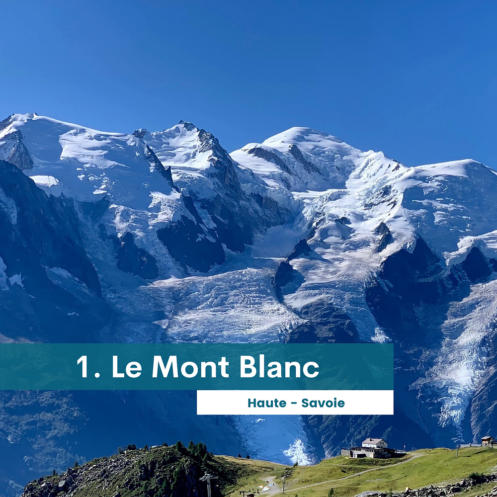 Le mont Blanc - Haute Savoie - Randonnée