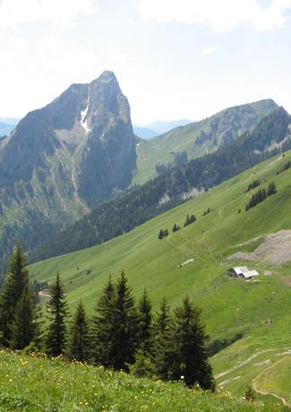 Les Cornettes de Bise- Haute Savoie