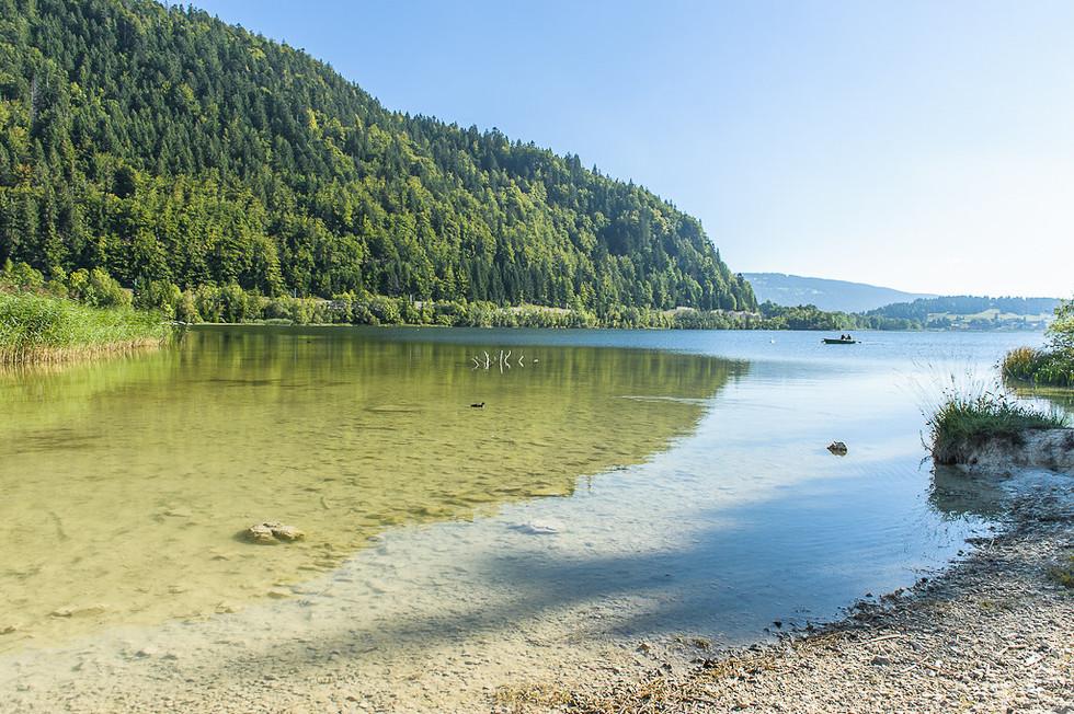 Lac de brenets - Jura - Hexatrek-Etape1-