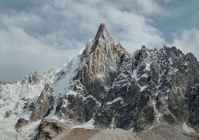 Chamoni-Aiguilles vertes-Mont-Blanc-Hexa