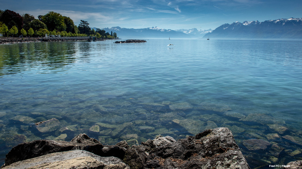 Lac Leman - Hexatrek-Etape1-Randonnée