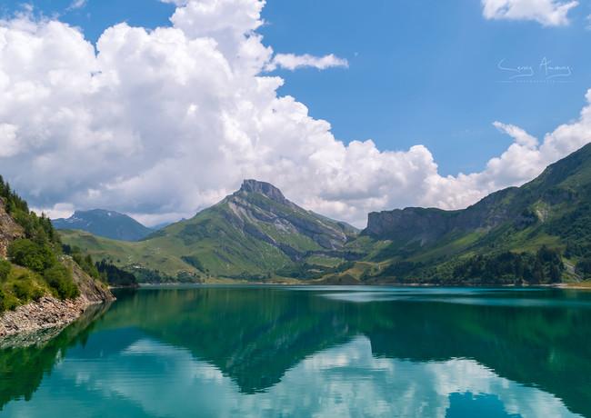 Lac de Roselend-Beaufortin-Hexatrek-