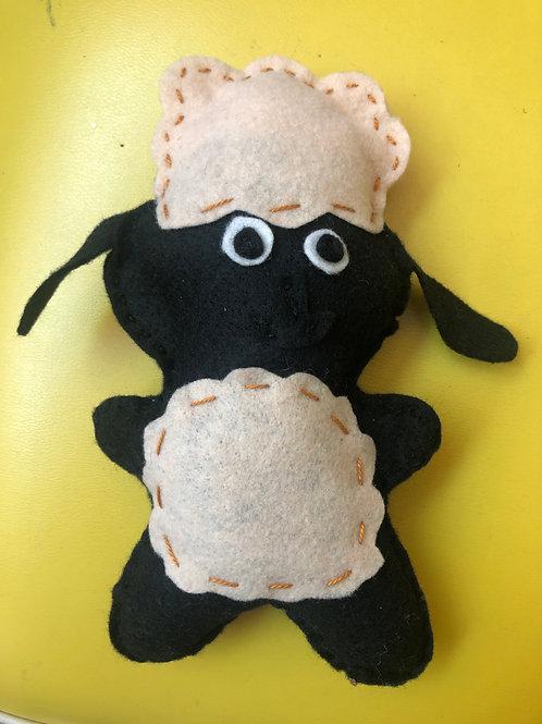 Sew a Farmyard Friend Sheep