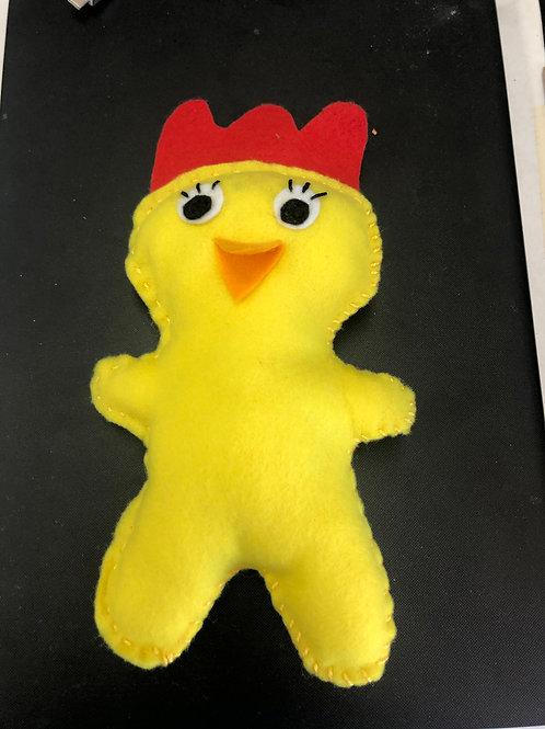 Sew a Farmyard Friend Chicken