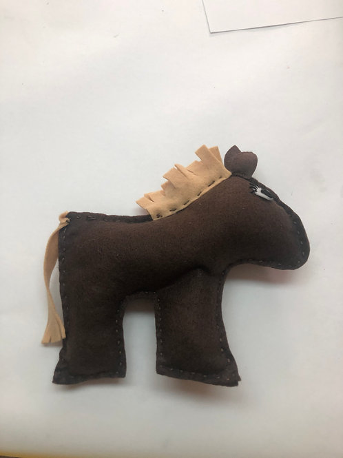 Sew a Farmyard Friend Horse
