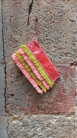Pochette en fibres naturelles