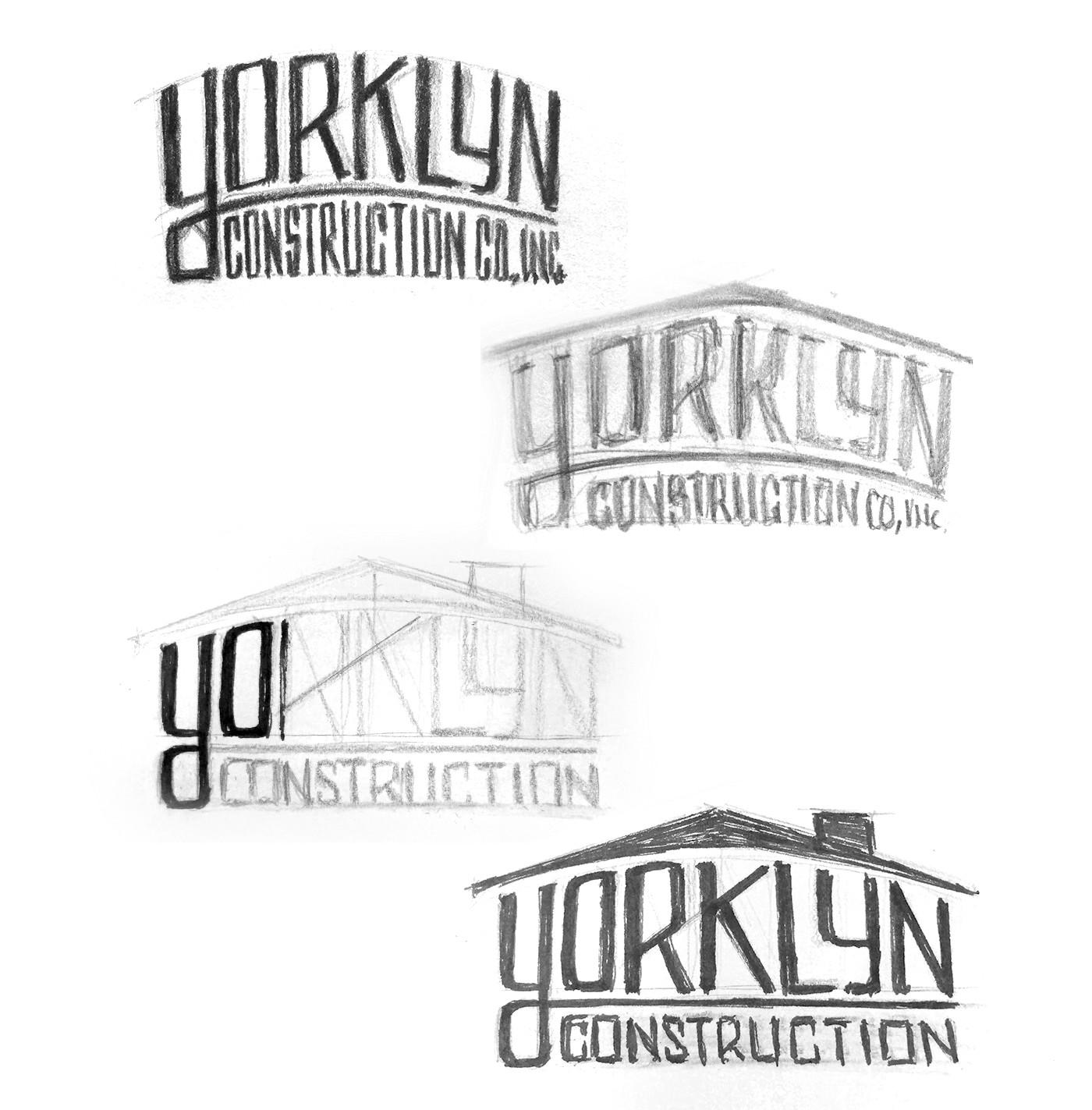 Yorklyn Construction Logo Design