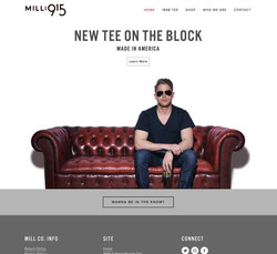Mill Co. 915 Site Launch