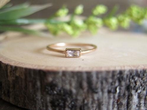 Single Baguette Ring