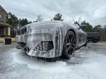BMW M850 Foam wash.jpg