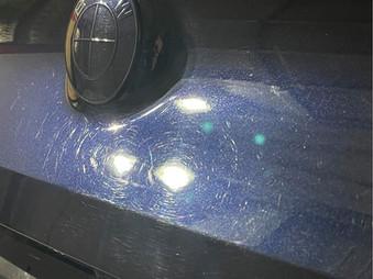 BMW M850 swirls before Polish.jpg