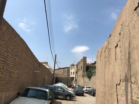 イラン(テヘラン)の街並み