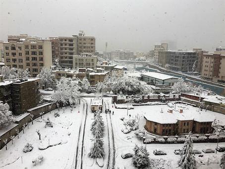 イランも大雪