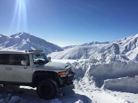 イランの雪山