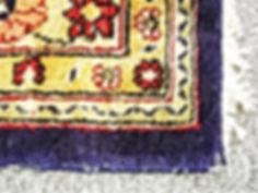 ペルシャ絨毯メンテナンス