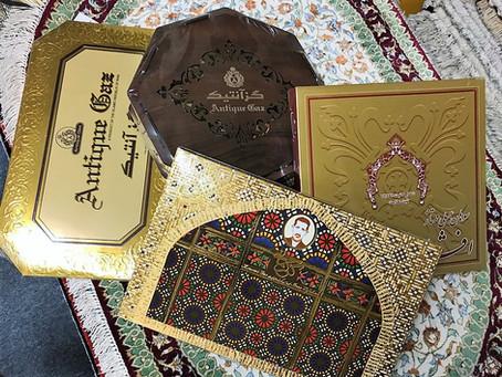 イランの銘菓(ギャズ)